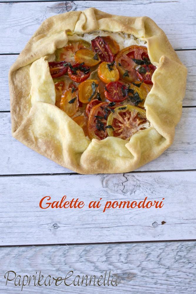 Galette con pomodori