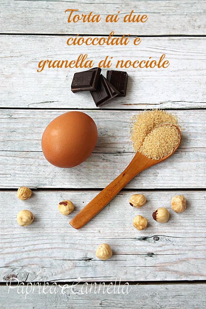 Torta ai due cioccolati di Silvialab