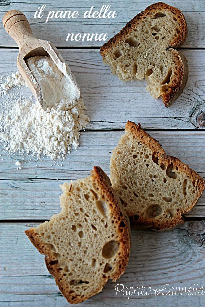 pane con esubero lievito madre di roberta niglio