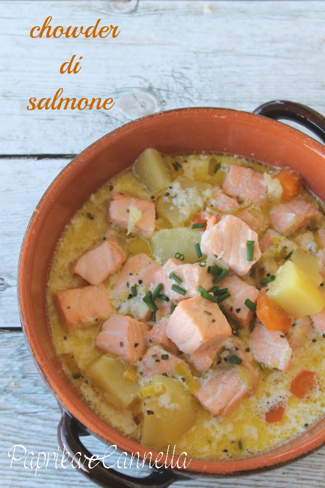 chowder al salmone