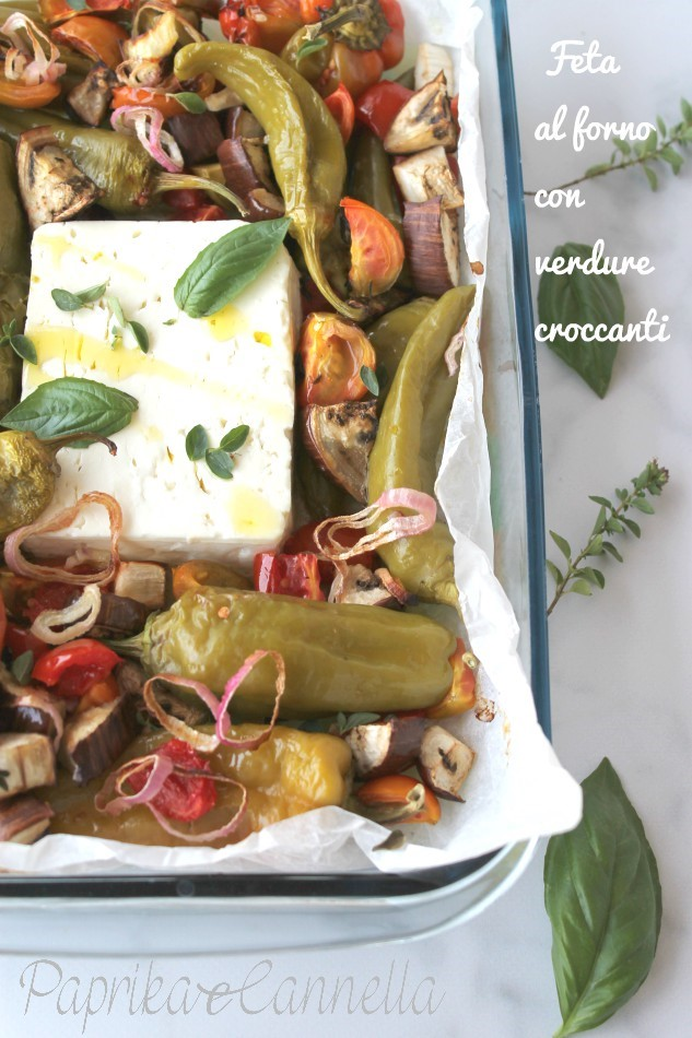 Feta e verdure